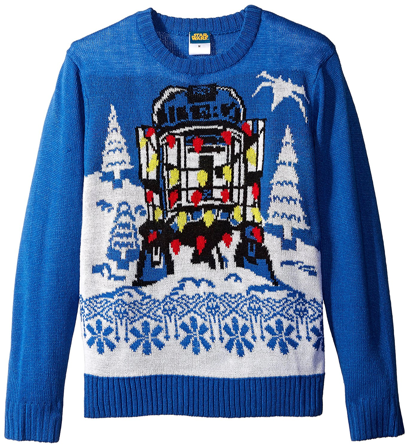 Hybrid Apparel Women's Star Wars R2d2 Holiday Sweater with Music. by Hybrid Apparel. $ $ 29 99 Prime. FREE Shipping on eligible orders. Some sizes/colors are Prime eligible. out of 5 stars Product Features Cotton/polyester blend knit sweater. Star Wars Men's Darth Vader Holiday Sweater.